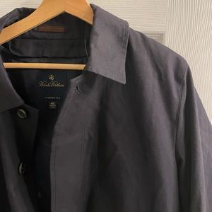 Brooks Brothers Trench Coat with Removable Vest